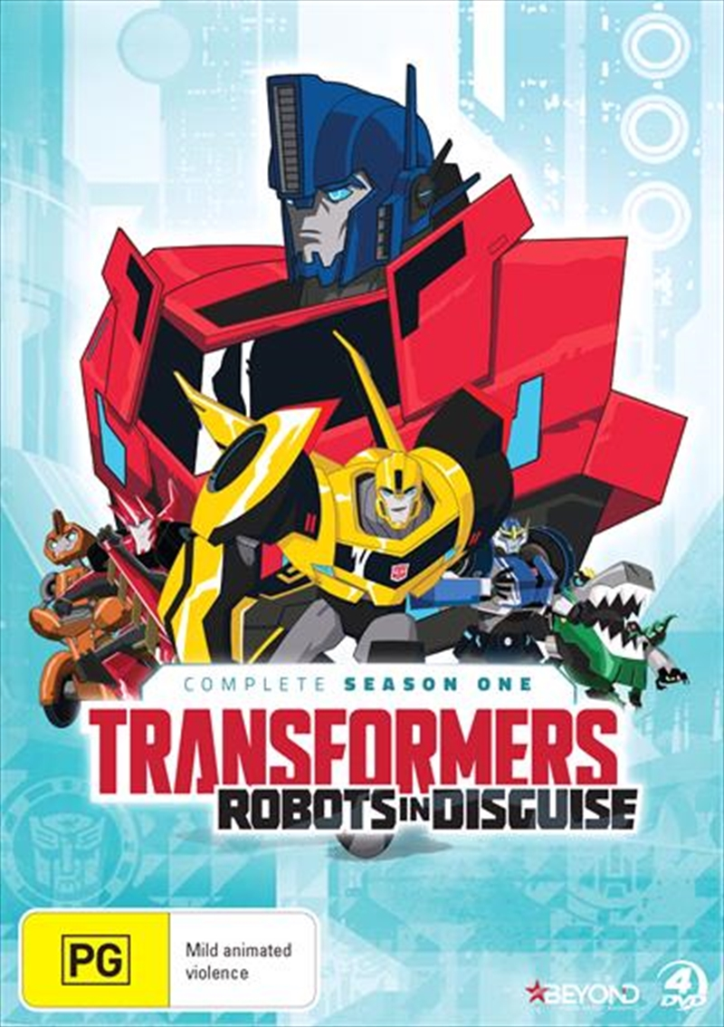 Transformers - Robots In Disguise - Season 1 | DVD