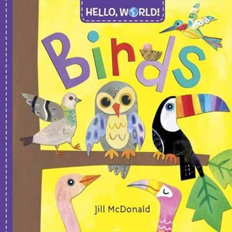 Hello World Birds | Board Book
