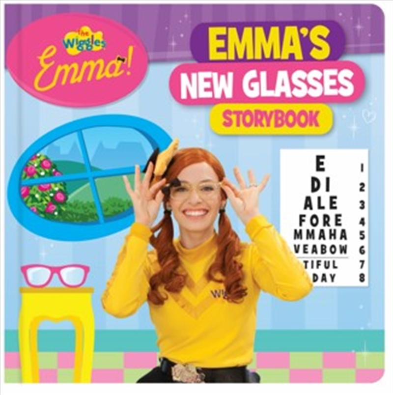 Emmas New Glasses Storybook   Hardback Book