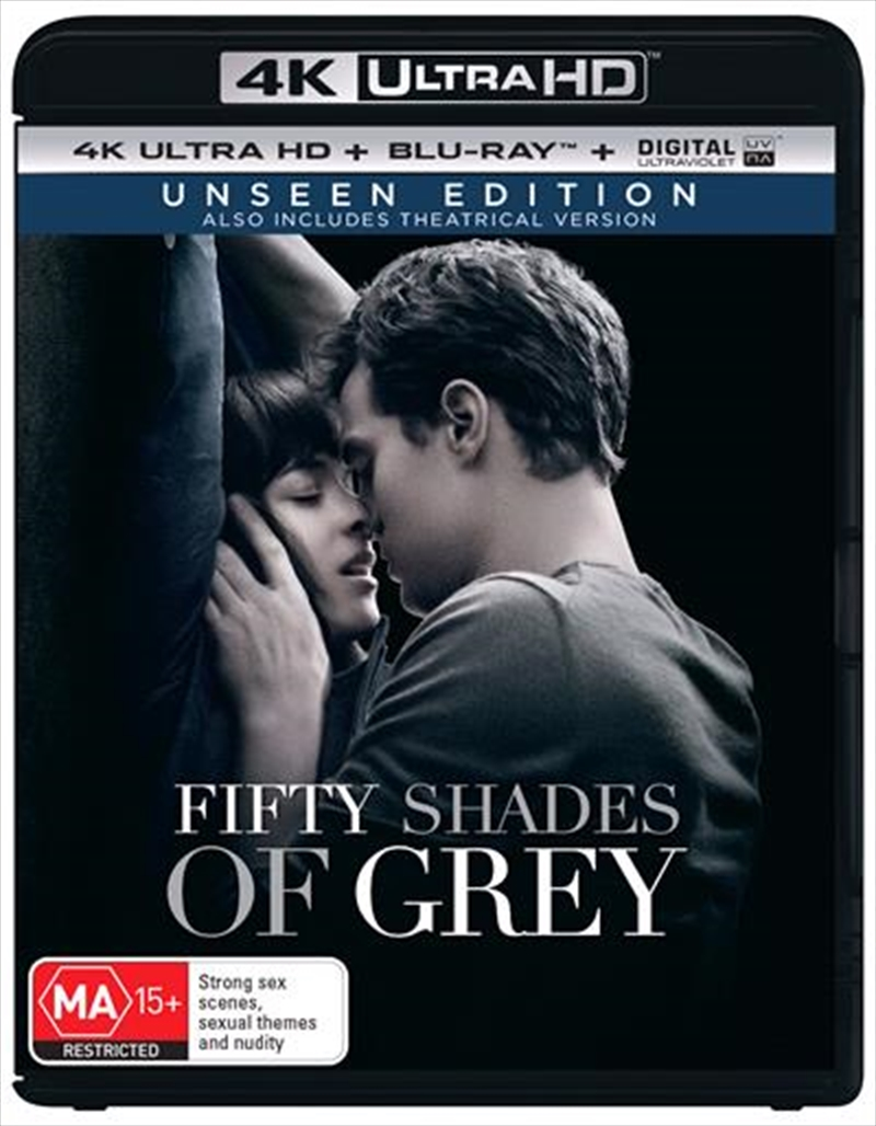 Fifty Shades Of Grey | Blu-ray + UHD + UV