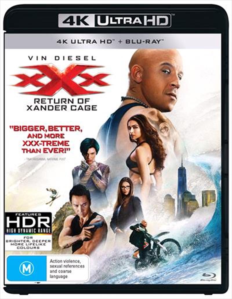 XXX - Return Of Xander Cage | UHD