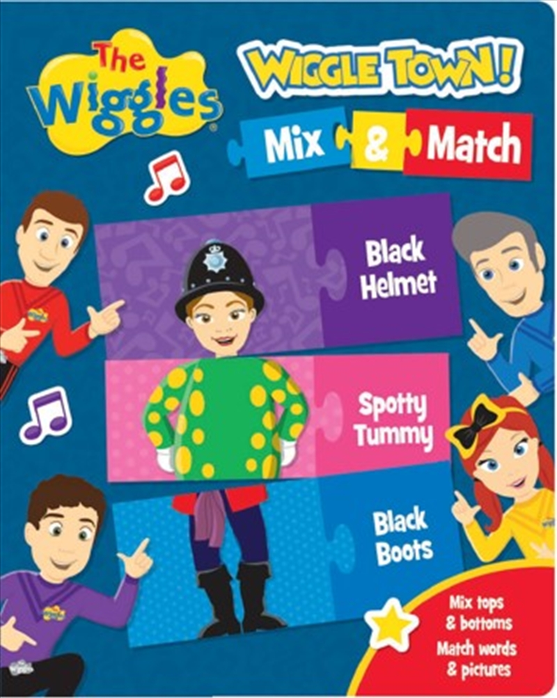 Wiggles: Wiggle Town Mix And Match | Hardback Book
