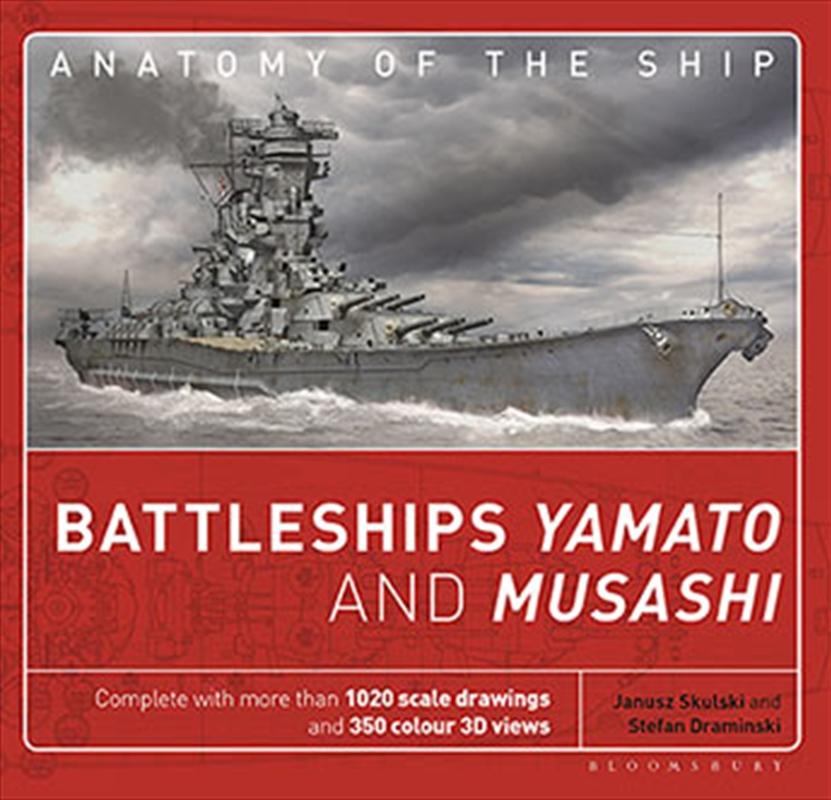 Battleships Yamato and Musashi | Hardback Book