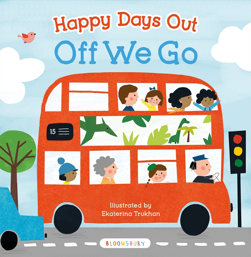Happy Days Out: Off We Go! | Board Book