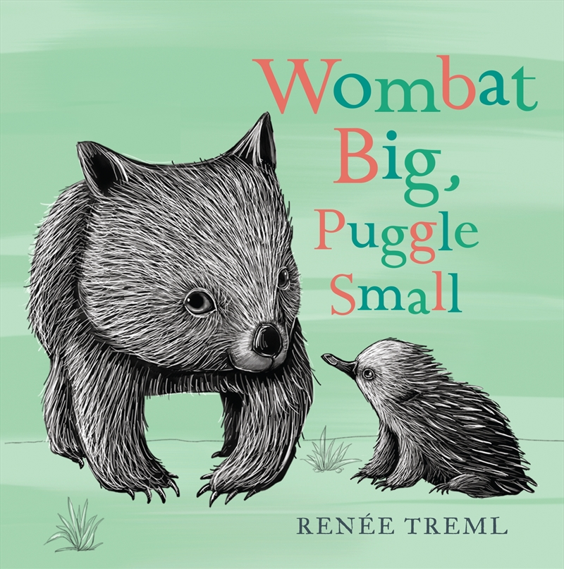 Wombat Big Puggle Small | Board Book