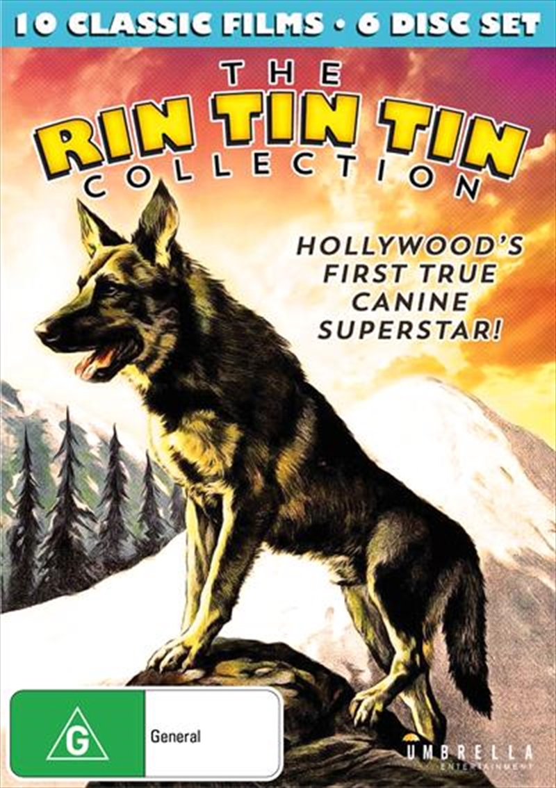 Buy Rin Tin Tin Collection On Dvd Sanity