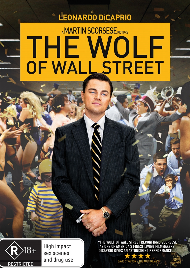 Wolf Of Wall Street, The | DVD