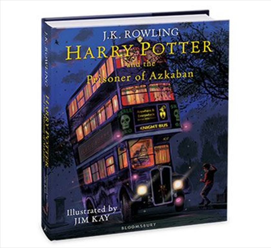 Harry Potter and the Prisoner of Azkaban - Illustrated Edition | Hardback Book