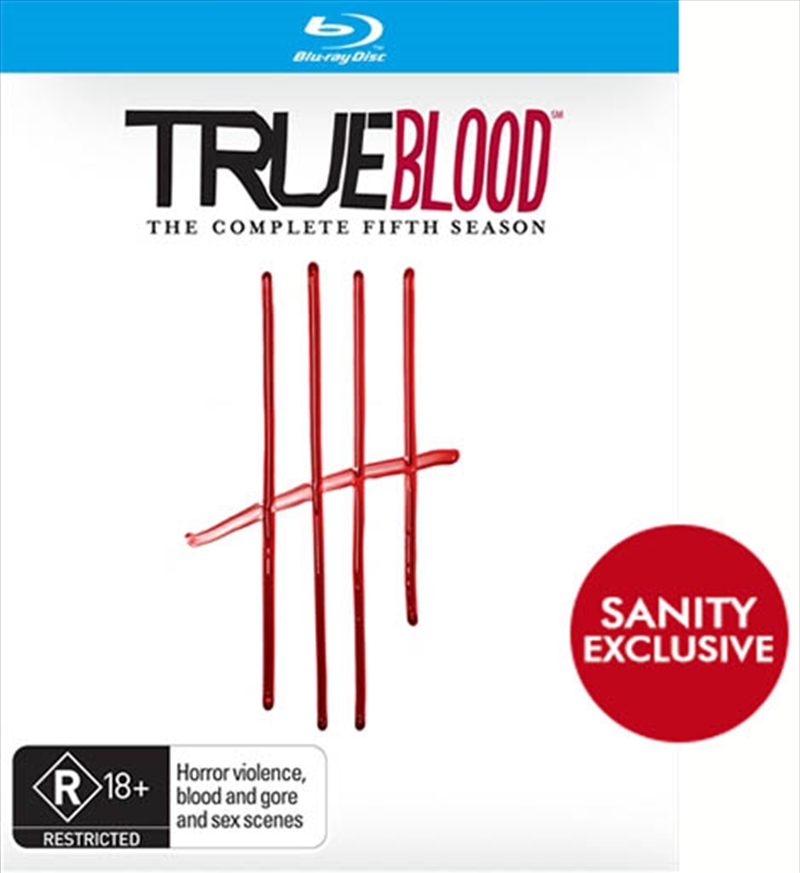 True Blood; S5 (EXCLUSIVE SLIPCOVER) | Blu-ray