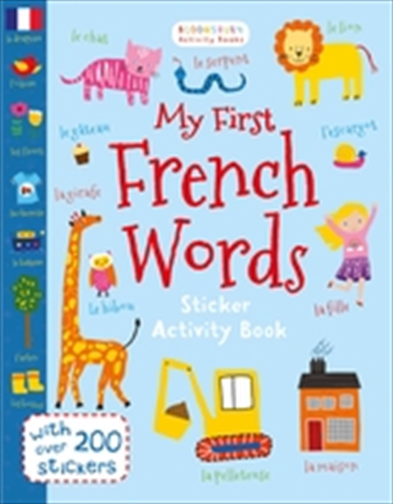 My First French Words | Board Book