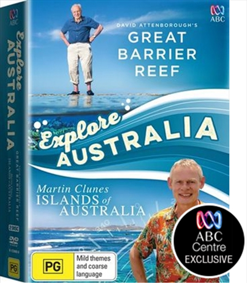 Great Barrier Reef / Martin Clunes Islands Of Australia Pack | DVD