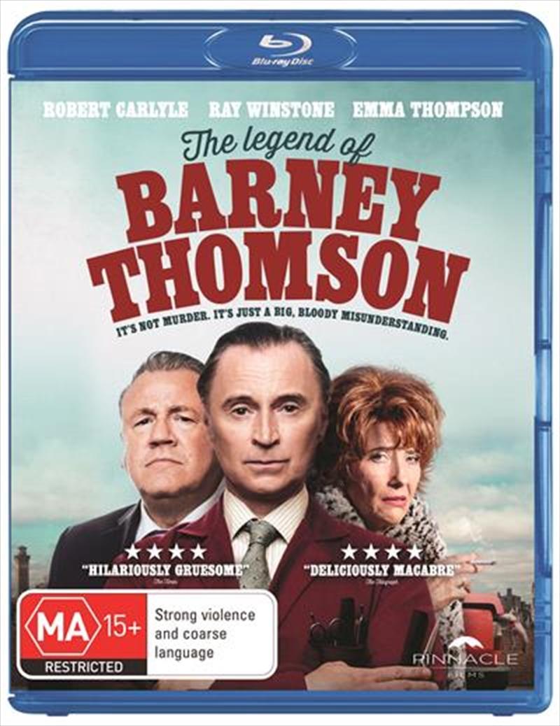 Legend Of Barney Thomson, The | Blu-ray