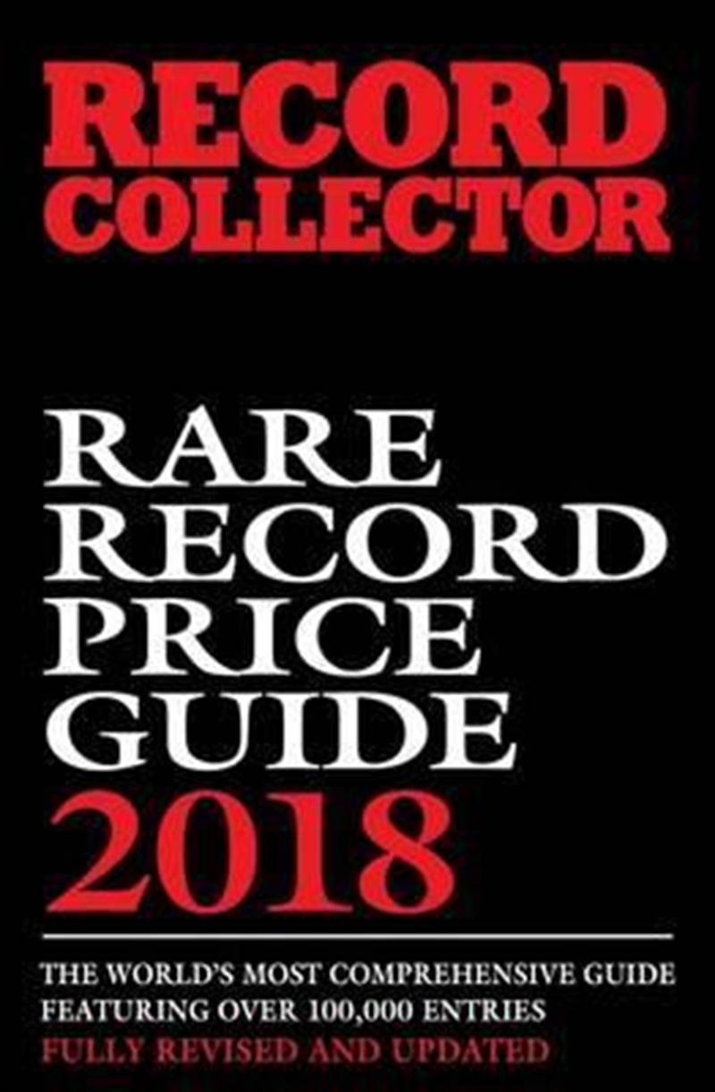 Rare Record Price Guide: 2018   Paperback Book