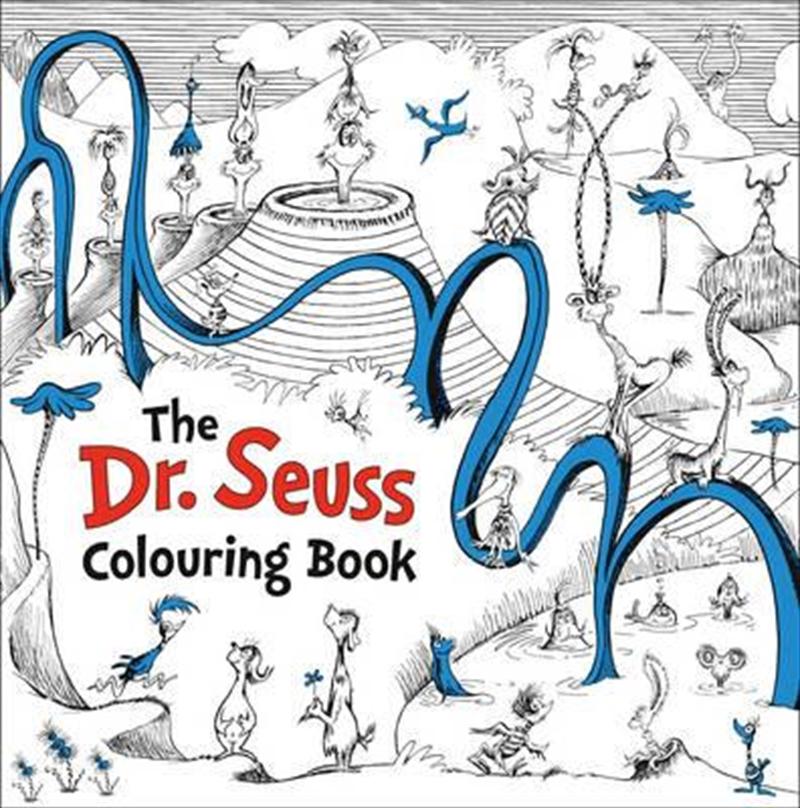 Dr Seuss Colouring Book | Colouring Book