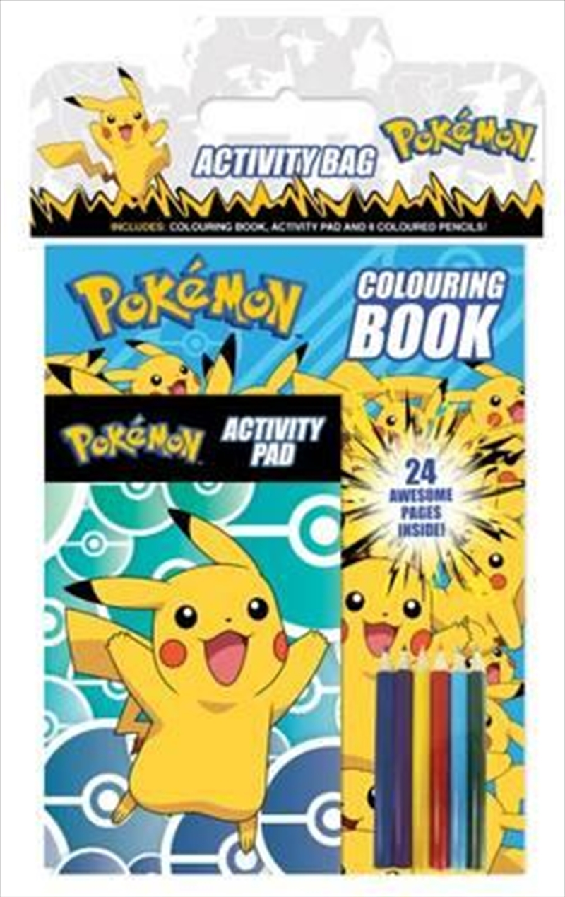 Pokemon Activity Bag | Paperback Book