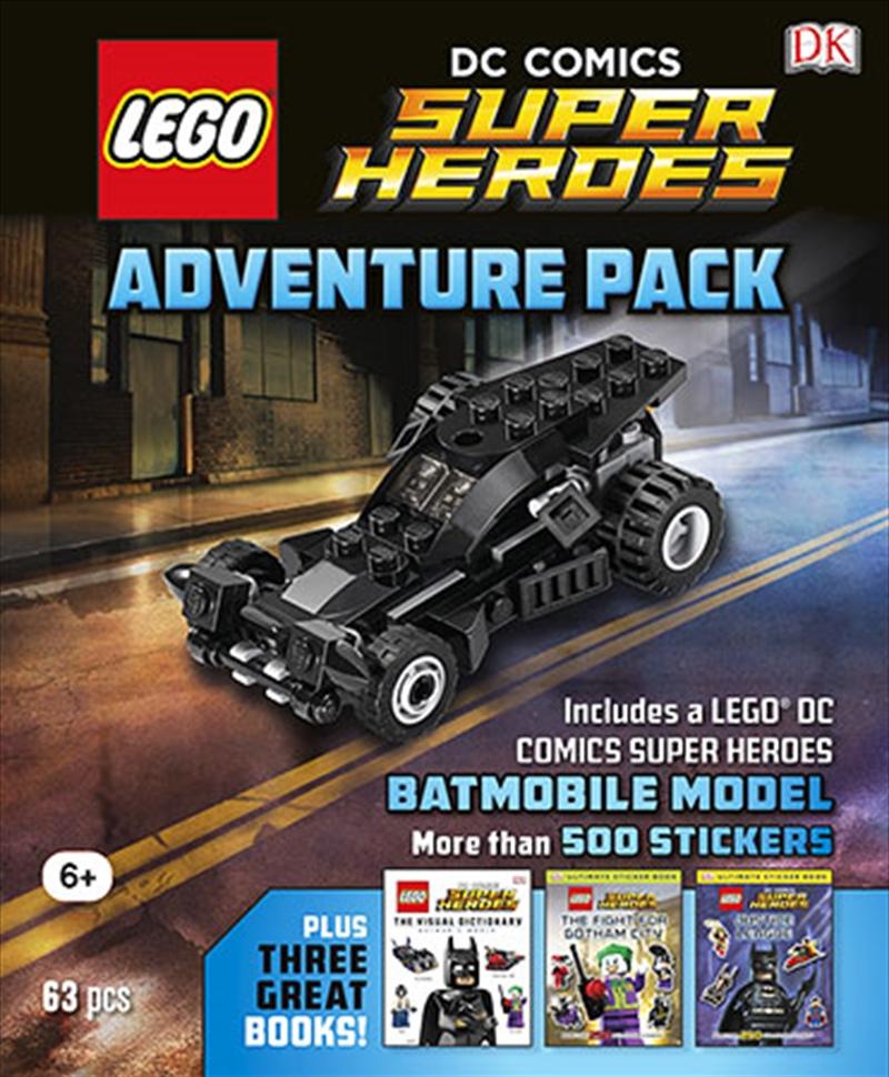 Lego Dc Comics: Adventure Pack | Hardback Book