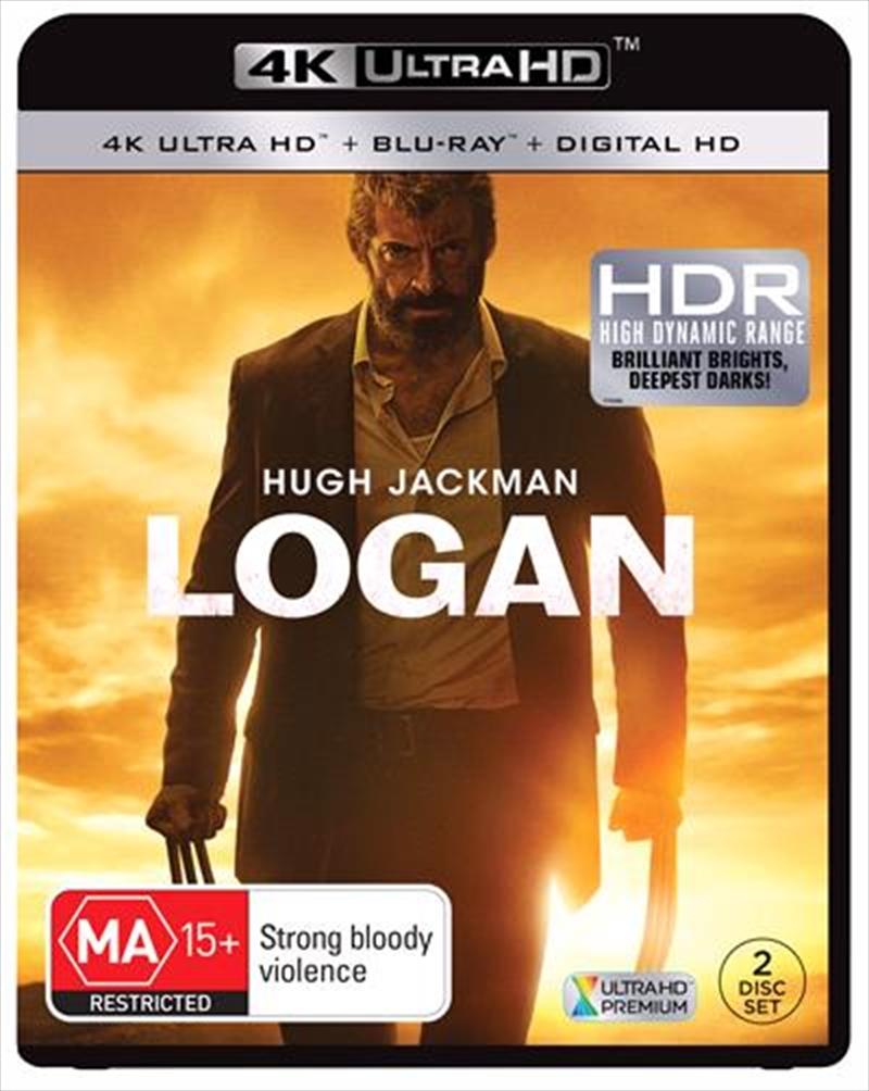Logan | Blu-ray + UHD + UV