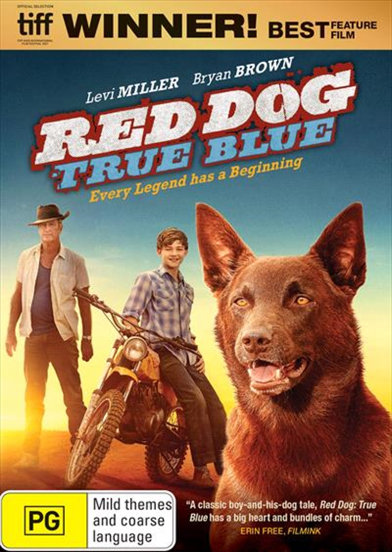 Red Dog - True Blue | DVD