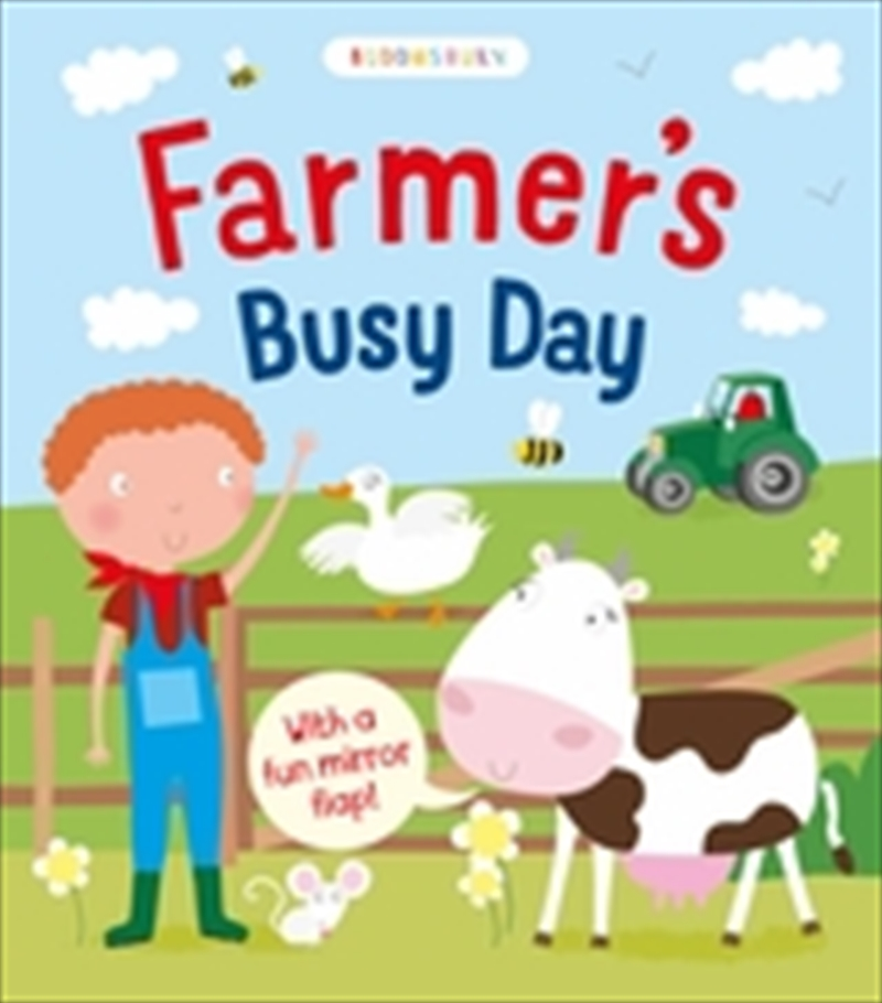 Farmers Busy Day | Board Book