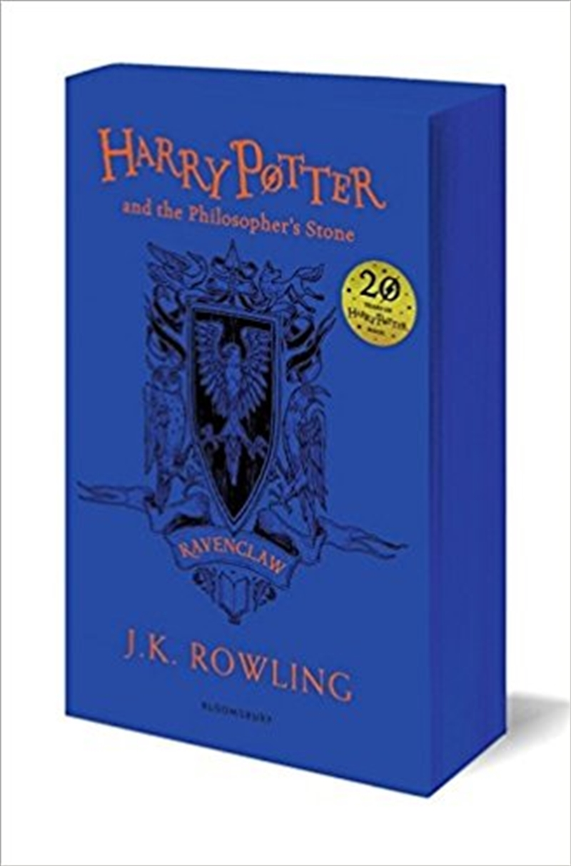 Harry Potter and the Philosopher's Stone - Ravenclaw Edition   Paperback Book