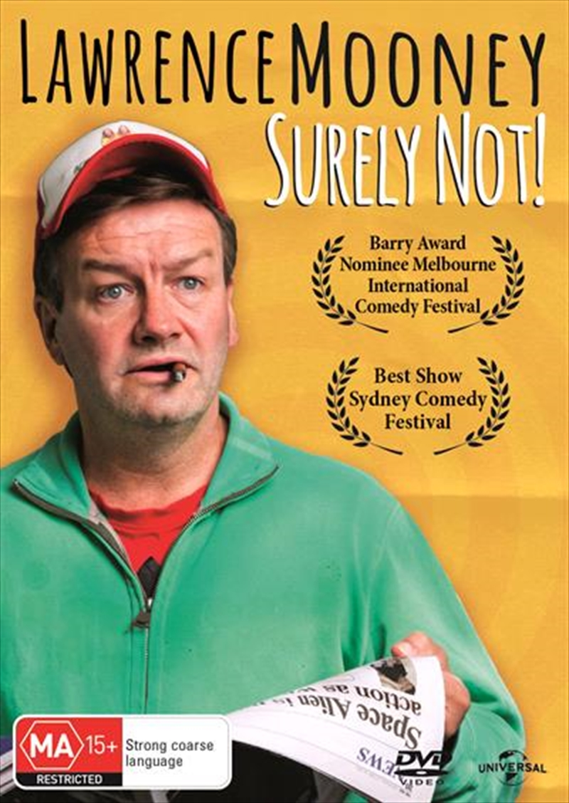 Lawrence Mooney - Surely Not | DVD