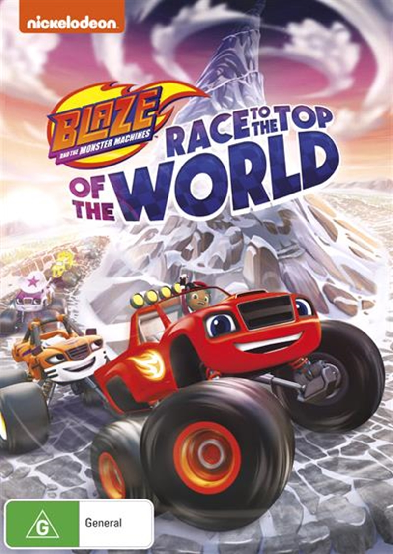 Blaze And The Monster Machines - Race To The Top Of The World | DVD