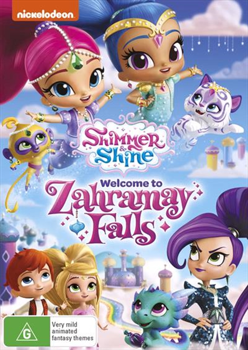 Shimmer And Shine - Welcome To Zahramay Falls | DVD