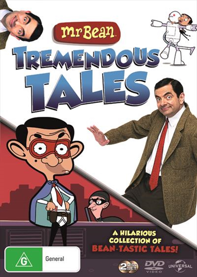 Buy Mr Bean Tremendous Tales Collection On Dvd Sanity