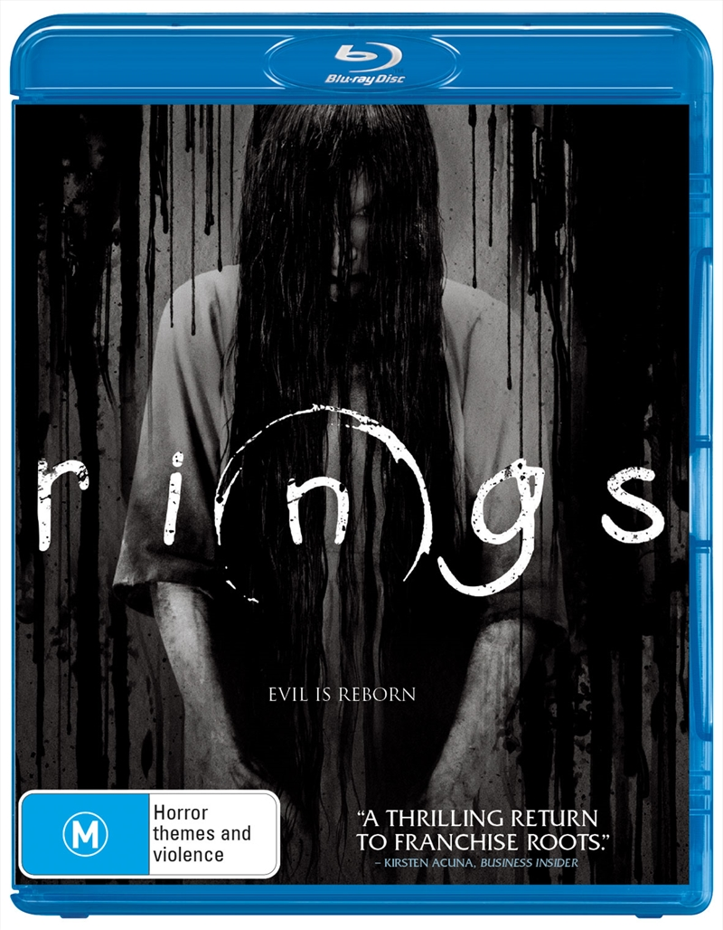 Rings (EXCLUSIVE ARTWORK) | Blu-ray