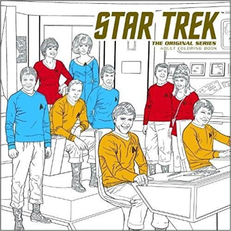 Star Trek  The Original Series Adult Coloring Book | Colouring Book