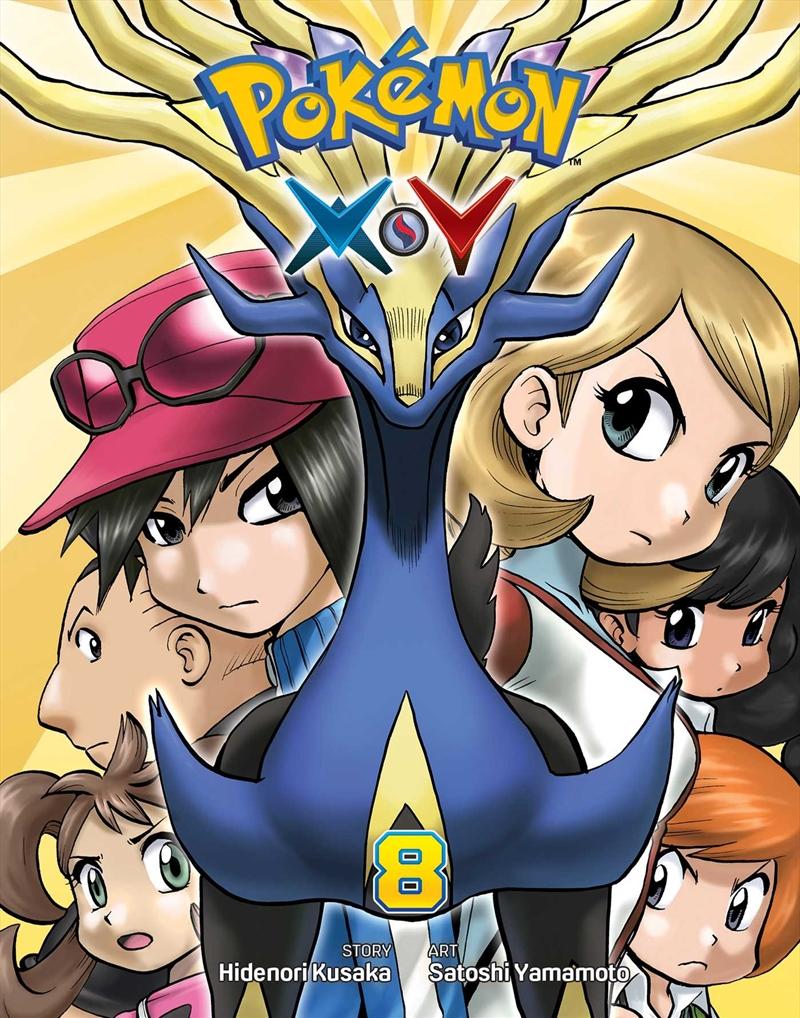 Pokemon XY: Vol 8   Paperback Book