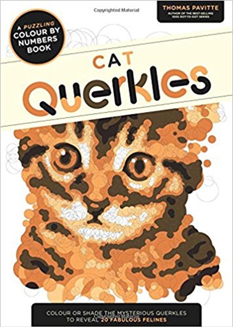 Cat Querkles | Paperback Book