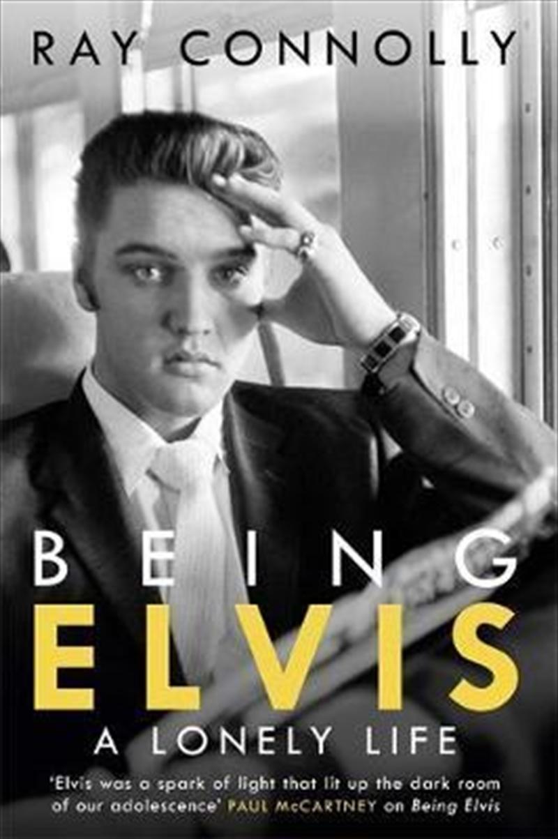 Being Elvis   Paperback Book