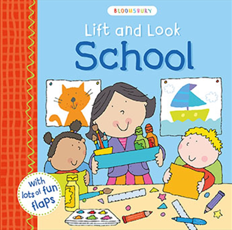 Lift and Look School | Board Book