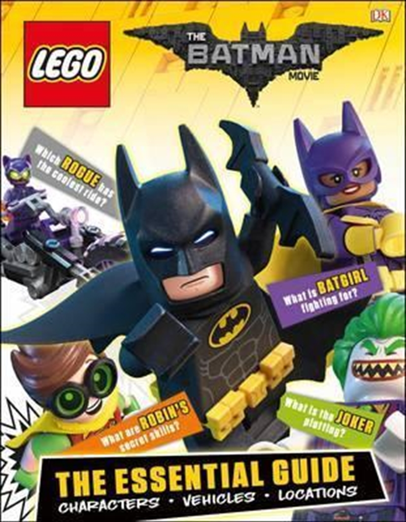 Lego Batman Movie Essential Gu | Hardback Book