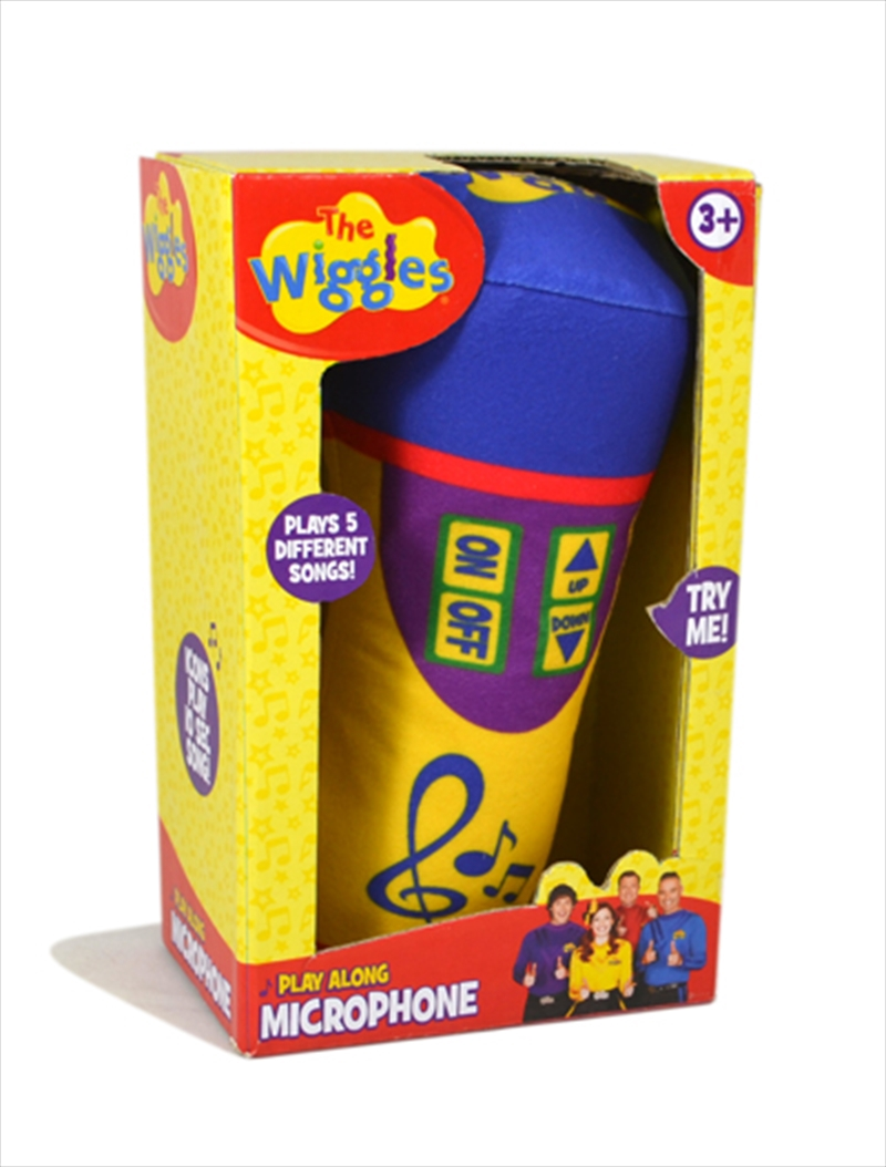 Microphone With Sound Plush | Toy