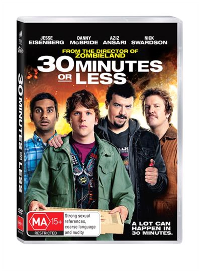 30 Minutes Or Less | DVD