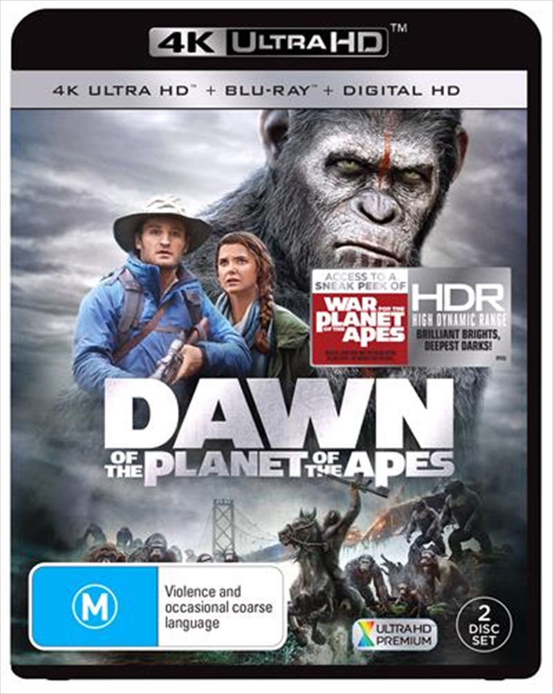 Dawn Of The Planet Of The Apes | Blu-ray + UHD + UV | UHD