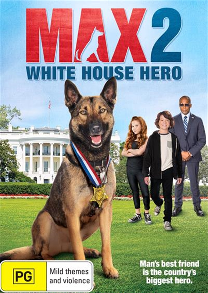 Max 2 - White House Hero | DVD