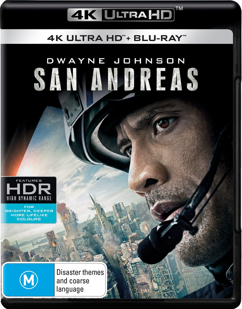 San Andreas - UHD + Blu-ray | UHD