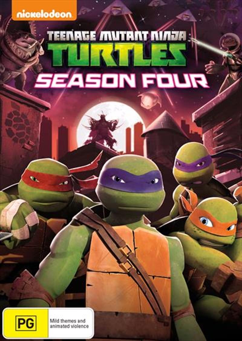 Teenage Mutant Ninja Turtles - Season 4 | Boxset | DVD