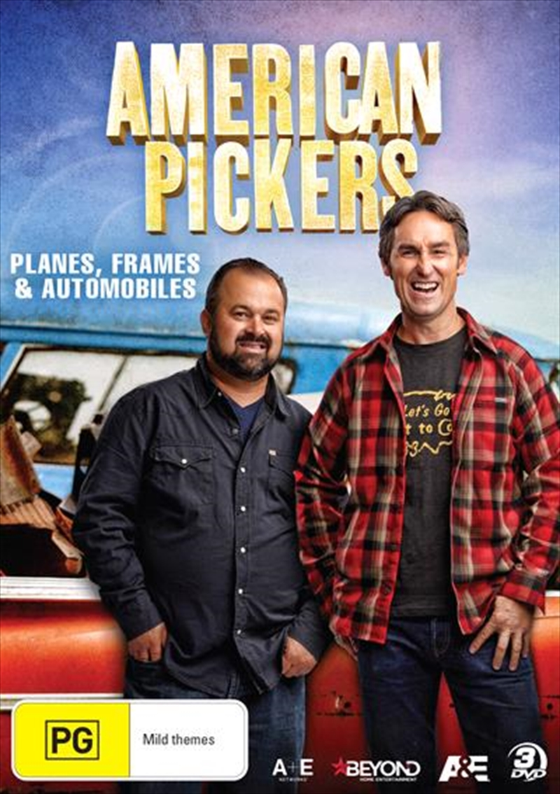American Pickers - Planes, Frames And Automobiles | DVD