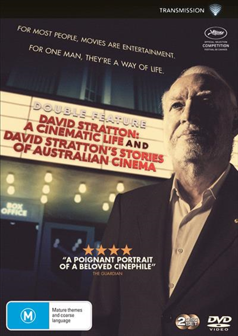 David Stratton - A Cinematic Life / David Stratton - Stories Of Australian Cinema | DVD
