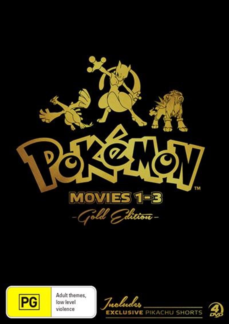 Pokemon - Movie 1-3 - Gold Edition | DVD
