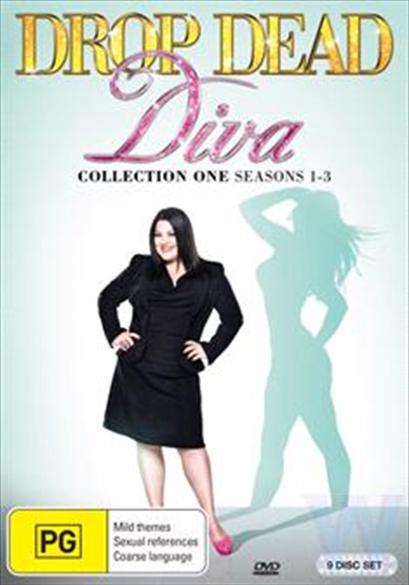 Buy brooke elliott drop dead diva season 1 3 dvd sanity - Drop dead diva dvd ...