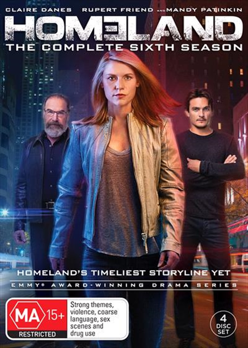 Buy Homeland - Season 7 on DVD | Sanity