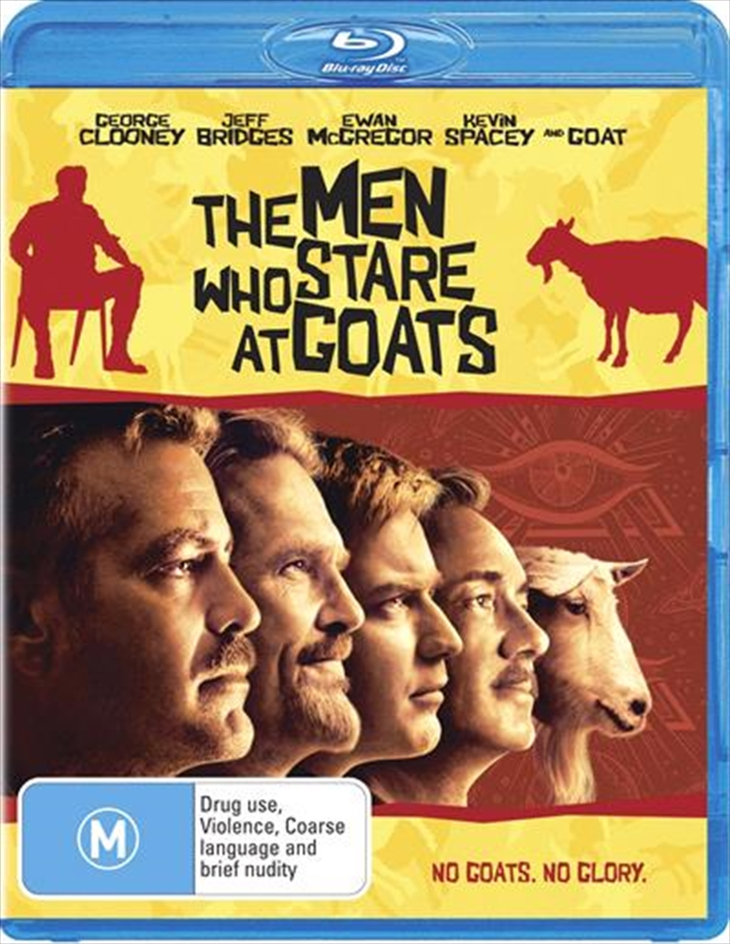 Men Who Stare At Goats, The | Blu-ray