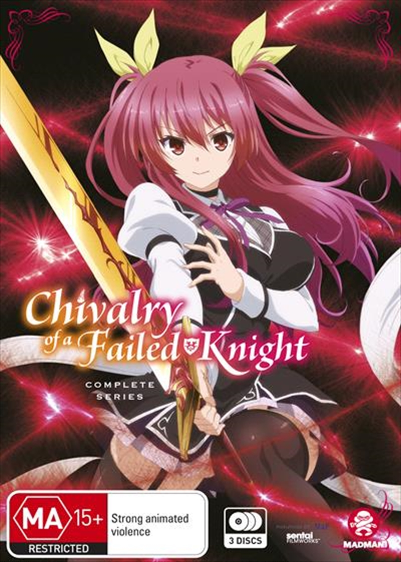 Chivalry Of A Failed Knight Series Collection   DVD