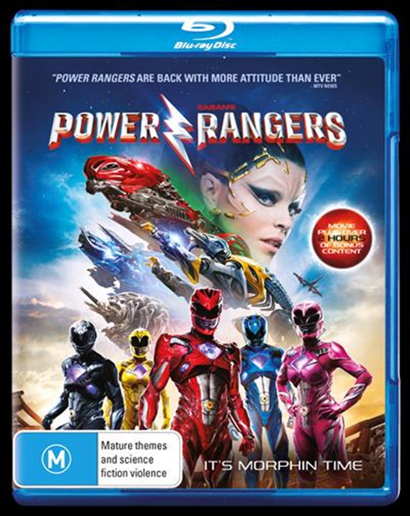 Power Rangers - The Movie | Blu-ray