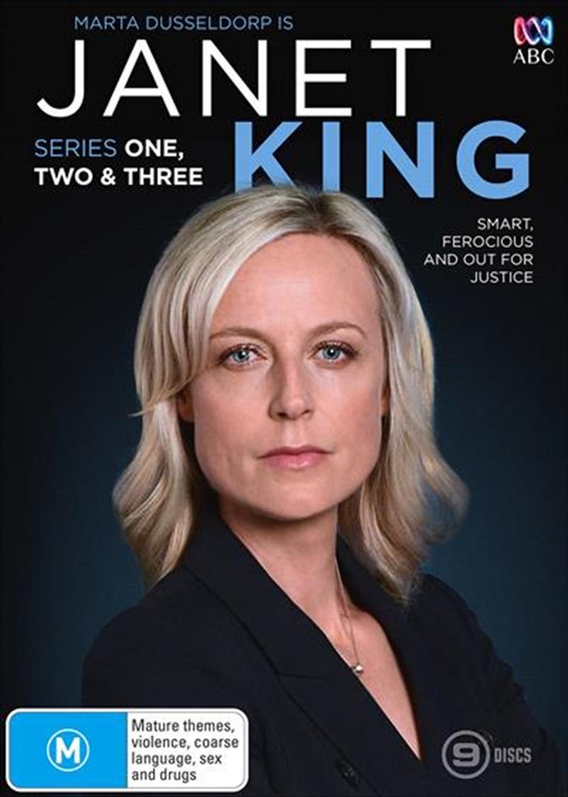 Janet King - Season 1-3 | Boxset | DVD